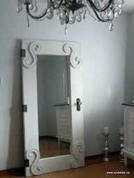 DIY door mirror