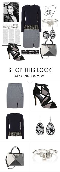 """Untitled #1682"" by krissybob ❤ liked on Polyvore featuring Autumn Cashmere, Fendi and Finn"