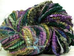 Look at this gorgeous art yarn by my fellow FTEC teammate!!!  @Kitty Grrlz