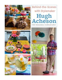 Stylemaker Hugh Acheson answered our style and entertaining questions. Read his tips here: www.bhg.com/blogs/better-homes-and-gardens-style-blog/2012/08/06/behind-the-scenes-with-stylemaker-hugh-acheson/?socsrc=bhgpin081412stylemakerhugh