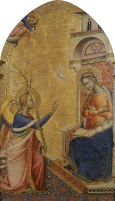 Annunciation  Master of the Misericordia (active c.1530–c.1400) (attributed to)  The Courtauld Gallery