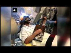 Ator de CSI toca guitarra durante cirurgia no cérebro. Vídeo!    Brad Carter implantou um marca-passo no cérebro'