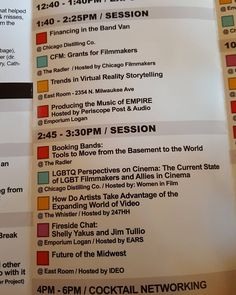 An awesome Virtual Reality pic! CiMMcon afternoon line-up. Come out and join us. 2300 block of N. Milwaukee Ave in Logan Square. Sat & Sun. 9am-6pm #filmmaker #grants #vr #virtualreality #empire #music #band #lgbt #lgbtq #video #Business by cimmfest check us out: http://bit.ly/1KyLetq