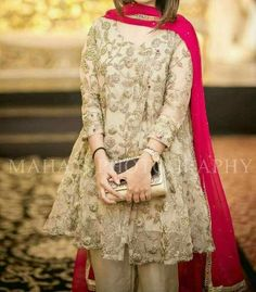 Full work on front and back side . Price : 8000 pkr Cash on delivery ( no delivery charges applied only for pakistan) we deliver worldwide we also take custom orders . Shadi Dresses, Pakistani Formal Dresses, Pakistani Party Wear, Pakistani Wedding Outfits, Pakistani Dress Design, Indian Dresses, Pakistani Mehndi Dress, Walima Dress, Pakistani Couture