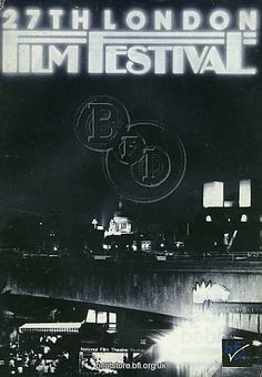 London Film Festival Poster - 1983.  Copyright © BFI - All Rights Reserved