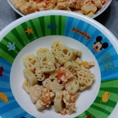 Dinner. Hello Kitty pasta with a few ingredients that I could find - tomatoes, egg and shredded cheese. Seasoned with mixed herbs and black pepper ^^