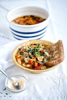 Ribollita – Hearty Tuscan Vegetable Soup and a giveaway   supergolden bakes