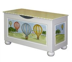 Toy Chest - Hot Air Balloon