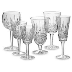 Waterford Crystal Patterns   ... would show you my crystal pattern too. Waterford-Lismore. Very pretty