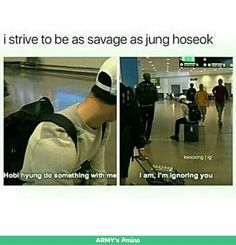 "Wdym jimin with that ""something""?? OK lol sorry but JIHOPE is on with hobi being savage af"