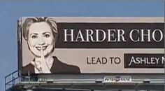 This billboard of Hillary Clinton has her supporters in full-on freak out mode>>>>web site for marrieds who what to cheat on their spouse By Joshua Riddle on June 29, 2014