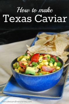 Texas Caviar - perfect to make to eat throughout the week.