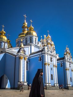 things to do in kiev Golden domed St Michael's Monastery