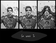 """""""So was I"""" #tonystark #civilwar http://sabrecmc.tumblr.com/post/134339801093"""