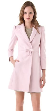 RED Valentino Bow Coat. For those days when I want to feel completely feminine and ladylike.