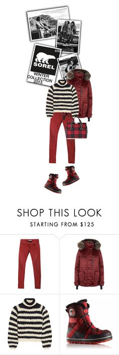 """""""Introducing the 2015 Winter Collection from SOREL: Contest Entry"""" by drigomes ❤ liked on Polyvore featuring moda, SOREL, Maison Scotch, Chloé y Dsquared2"""