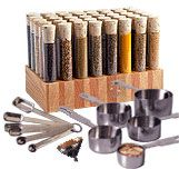 Tubular Spice Company, spice racks, spices, kitchen accessories, gifts, cooking utensils.