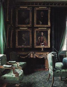 Sirius Black House - 12 Grimmauld Place [reminiscent of Vita Post Mortem Academy]
