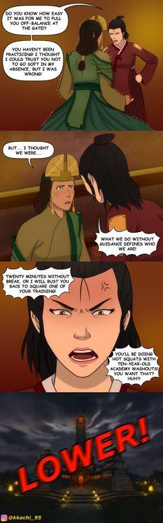Avatar Kyoshi, Korra Avatar, Avatar The Last Airbender, Avatar Cartoon, Avatar Funny, Cartoon Art, Avatar World, Avatar Series, Korrasami