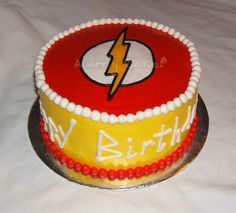 Image result for the flash birthday cake