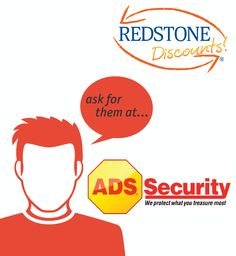 Ask for Redstone Discounts! when you use your Redstone debit or credit card at ADS Security. Click to see how you could get 3 months free or receive a smoke detector at no extra cost.