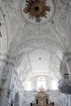 Kiliansdom/cathedral of Würzburg, Unterfranken/lower franconia,( July Baroque Architecture, Beautiful Architecture, Beautiful Buildings, Interior Architecture, Beautiful World, Beautiful Homes, Beautiful Places, White City, High Fantasy