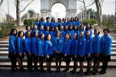 Eta Nu Sigma Alumnae Chapter example of unity; chapter polish