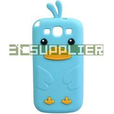 Cute Cartoon Chicken Silicone Case Cover for Samsung Galaxy S3 S III i9300 Blue | eBay