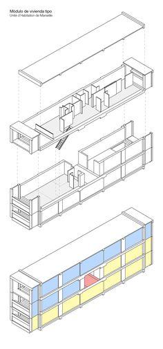 Le corbusier celulle d'habitation