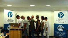 Demonstration von #Blitzhypnose und #Schnellhypnose