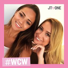 We love these two - @#llexphillips and @#ec_quinn91 travel the world together and give us bestie envy! They're both our #WCW today  #Bestiesbeforeboys #selfietogetherstaytogether #JTOne #jtonegirls