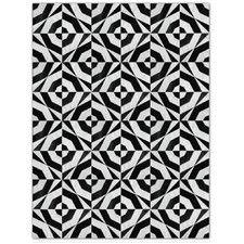 Patchwork Cowhide No. 1 Black/Grey Area Rug