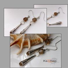 Gorgeous Long Drop / Dangle Earrings https://www.facebook.com/KalitheoCreations $16.00   #dropEarrings #NewTrends