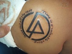 Time is A Valuable Thing – Linkin Park Logo Tattoo