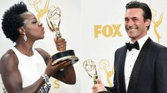 Viola Davis and Jon Hamm won Emmys in 2015.Is it time to scrap gender specific awards?