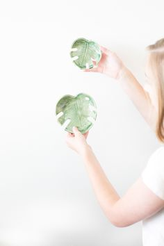 The ZEN Succulent | Ceramic monstera dish