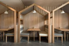 The Kitty Burns restaurant in Melbourne by Biasol Design Studio