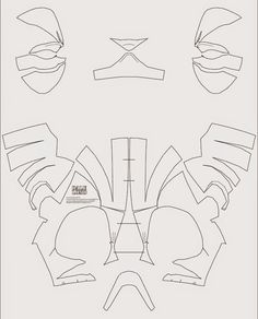Deadpool sewing pattern mask and front chest pieces is not quite deadpool semi rigid costume mask diy pdf template solutioingenieria Images