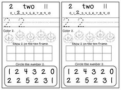 Here's a Halloween themed book for working on the numbers 0-5.