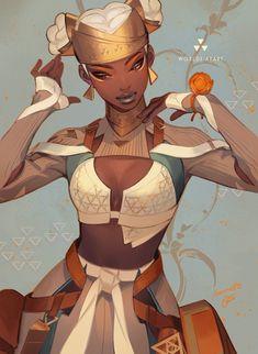 Female Character Design, Character Design Inspiration, Character Concept, Character Art, Concept Art, Skins Characters, Black Anime Characters, Fantasy Characters, Female Characters