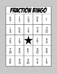 This whole class BINGO activity is a great way to practice adding and subtracting fractions with common denominators.  Download comes with 24 BINGO boards and 24 addition and subtraction problem cards. $
