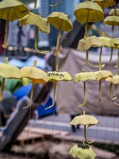 The umbrella, the symbol of the Hong Kong protests from #markcarnaby at www.carnabysnaps.com - all images Creative Commons Noncommercial