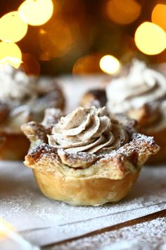 Ihanat luumumoussetortut - Suklaapossu Sweet Pastries, Winter Solstice, Winter Holidays, Cake Cookies, Food And Drink, Pie, Pudding, Baking, Desserts