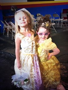 Aliannah and Her Sister Are Dressed for the Ball