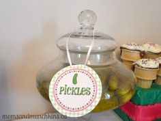 Cravings Baby Shower Theme: Ideas for food, decor, games, favors and more! #BabyShower