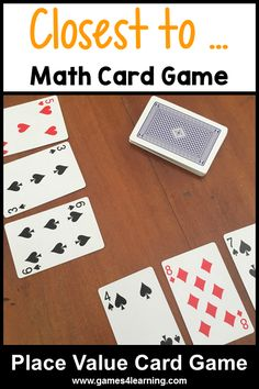 Math Card Games (4)