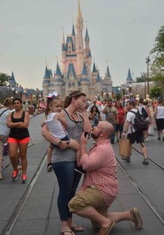 My dream proposal became a reality. I never imagined I would get engaged at Disney World! ♥️