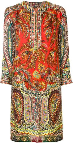 Etro Women Short Dress on YOOX. The best online selection of Short Dresses Etro. YOOX exclusive items of Italian and international designers - Secure payments Plus Dresses, Day Dresses, Short Dresses, Long Back Dress, Suits For Women, Clothes For Women, Kaftan Tops, Loose Fitting Tops, Loose Tops