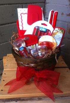 Kitchen Gadget Gift Basket.