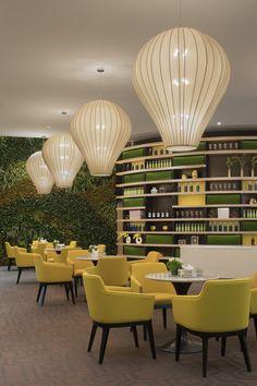 Restaurant Design, Cafe Restaurant, Flower Shop Interiors, Hospital Architecture, Sales Center, Interior Design Sketches, Lobby Design, Library Design, Indoor